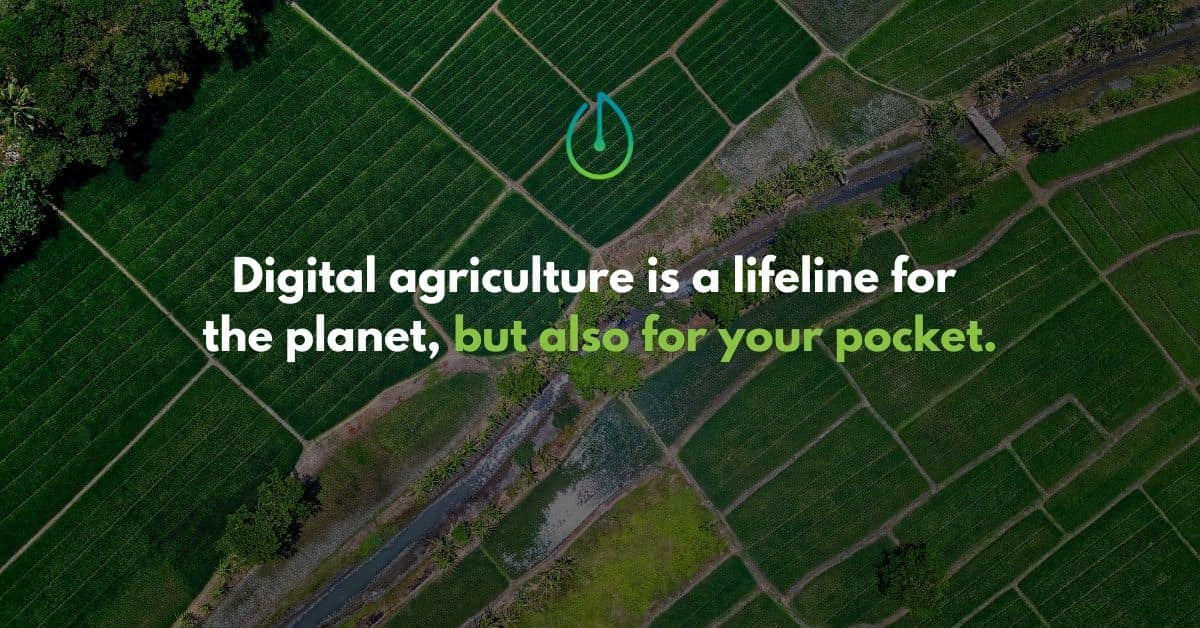 digital agriculture, blog banner, smart watering, smart irrigation